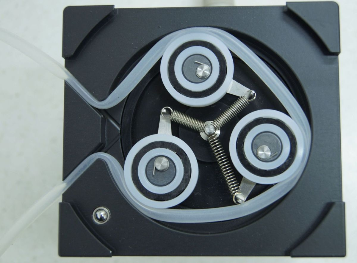 Peristaltic Pump - top view